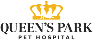 Logo of Queen's Park Pet Hospital in New Westminster, British Columbia